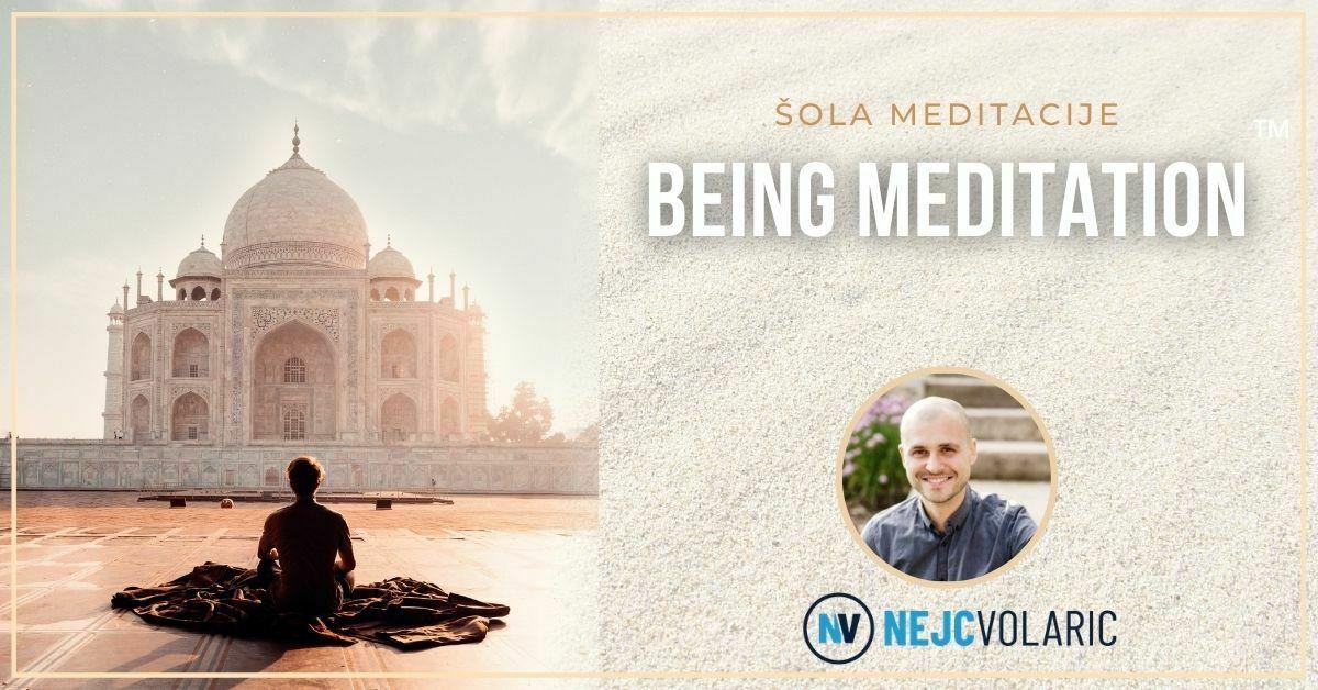 Tečaj Being meditacije™ – dosežite stanje lahkotnosti in miru